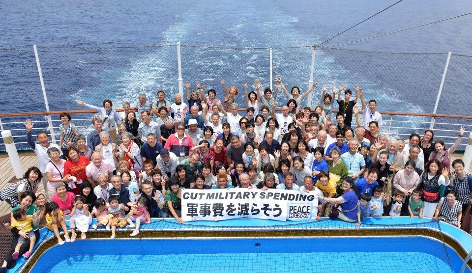 April 15, 2013 Japanese Peace Boat