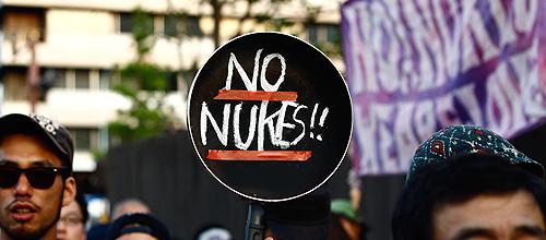 6.29 大飯原発再稼働反対デモat首相官邸前 Anti-nuclear demonstration in front of Japanese PM residence
